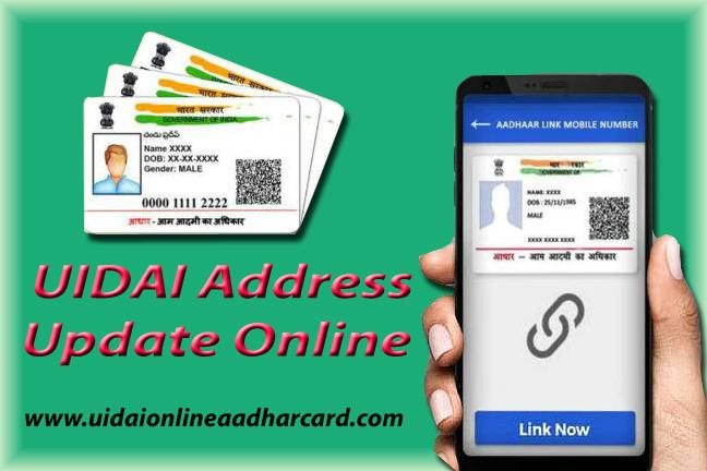 UIDAI Address Update Online