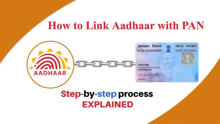 how to link pan card with aadhar card